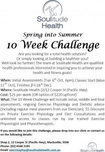 10 Week Challenge